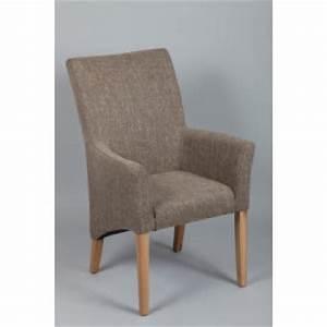 Chaise Fauteuil Avec Accoudoir : fauteuil gris avec accoudoirs mati ~ Melissatoandfro.com Idées de Décoration