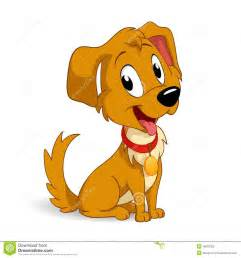 Cute Cartoon Puppy Dog