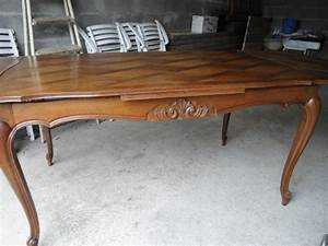 Meuble Style Louis Xv : table en chene style louis xv ~ Dallasstarsshop.com Idées de Décoration