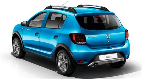 dacia sandero stepway 2017 dacia sandero stepway 2017 dimensions boot space and interior