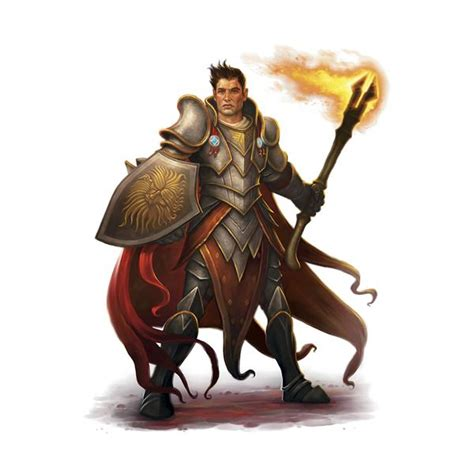 dragons dungeons paladin cleric male fantasy dnd multiclass ddo character monk fighter barbarian 5e characters human bhs4 google portraits medieval