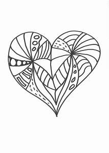 Herzen Zum Ausmalen : kostenlose malvorlage herzen malvorlage herz zum ausmalen ~ Buech-reservation.com Haus und Dekorationen