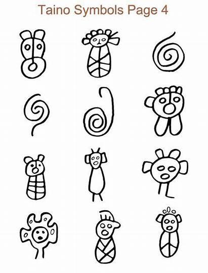 Taino Symbols Tribal Puerto Rico Tattoos Meanings