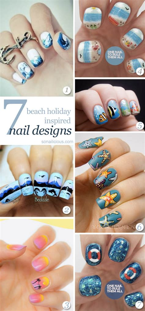 7 Amazing Beach Nails