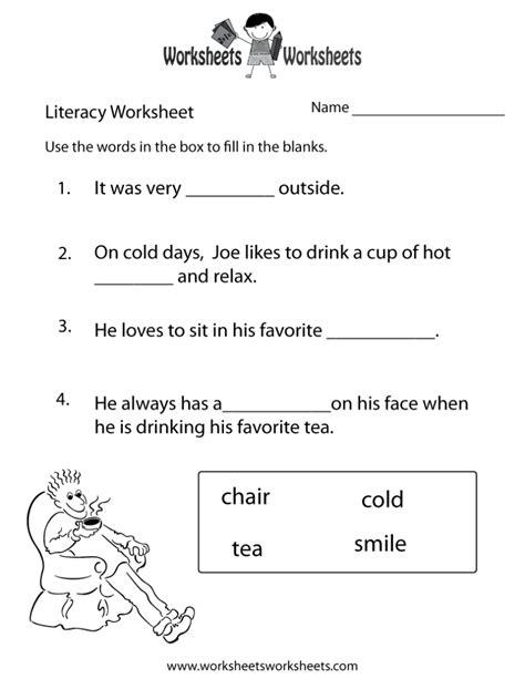 coloring pages kindergarten literacy worksheet