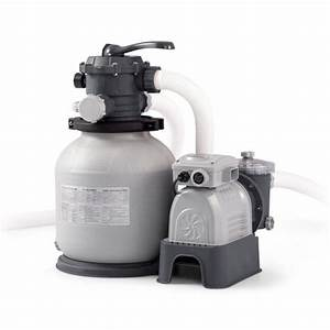 Intex 28645eg Krystal Clear 12in Sand Filter Pump For
