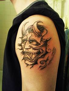 Mask Tattoos and Designs| Page 4