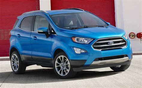 ford ecosport titanium  wallpapers  hd