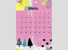 milowcostblog calendario enero imprimible y fondo