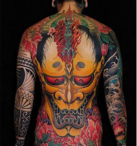 Tatouage Yakuza Dos