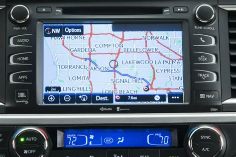 navigation and research on toyota entune