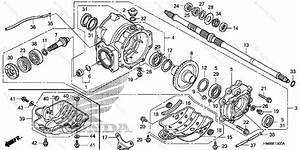 Honda Atv 2006 Oem Parts Diagram For Rear Final Gear