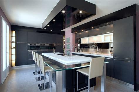 bureau d angle blanc laqué skconcept cuisine armony daumesnil moderne finition