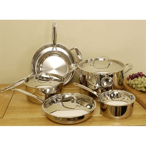 shop laurel creek professional  piece cookware set  shipping today overstock
