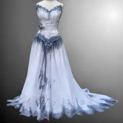 White Gothic Wedding Dresses