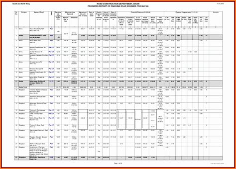 weekly status report template excel exceltemplates