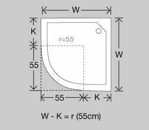 Radius Durch Umfang Berechnen : duschkabinen planung und richtiges messen ~ Themetempest.com Abrechnung