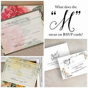 Wedding rsvp etiquette paperflora for Wedding invitations rsvp cards what does the m mean