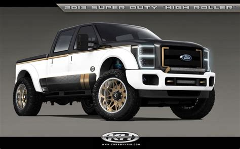 luxury ford trucks north brothers chronicle sema 2013 reveals variety of