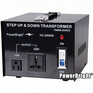 Power Bright 2000 Down Converter 110  120