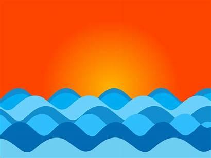 Waves Drawing Draw Ocean Wave Easy Drawings