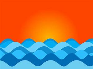 Drawing waves of the ocean are one of the many things a ...