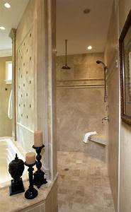 walk through shower bathroom traditional with tiled shower
