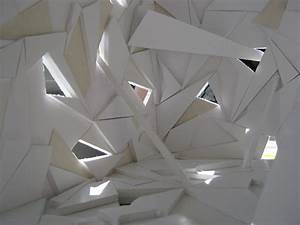 Applying The Art Of Origami Into Architectural Interior