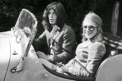 marianne faithfull  mick jagger  vintage pictures