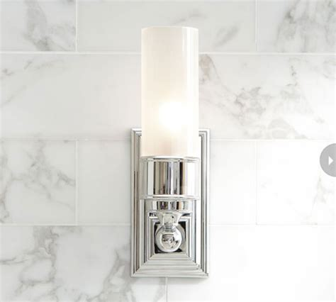 Bathroom Sconces Chrome by 6 Bathroom Lighting Options Style At Home