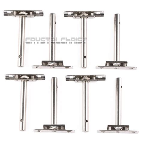 Floating Cabinet Brackets by 4 Pair Shelf Support Concealed Floating Metal