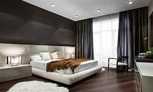 Schlafzimmer Braun Beige : holzboden verlegen so sieht das moderne schlafzimmer heute aus ~ Watch28wear.com Haus und Dekorationen