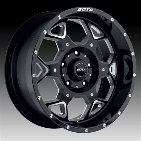 Sota Offroad Skul Death Metal Custom Truck Wheels Rims