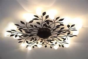 Deckenleuchten Wohnzimmer Landhausstil : deckenleuchte deckenlampe leuchten lampen astleuchte beleuchtung neu ebay ~ Markanthonyermac.com Haus und Dekorationen