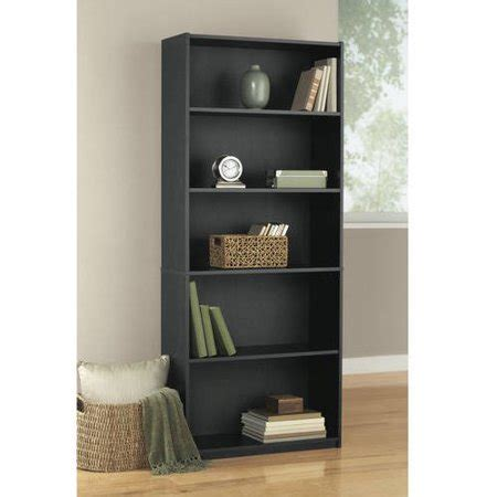 cheap 5 shelf bookcase mainstays 5 shelf wood bookcase colors walmart