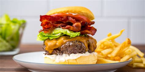 hamburger ideas best blt burger recipe best burger recipes delish com