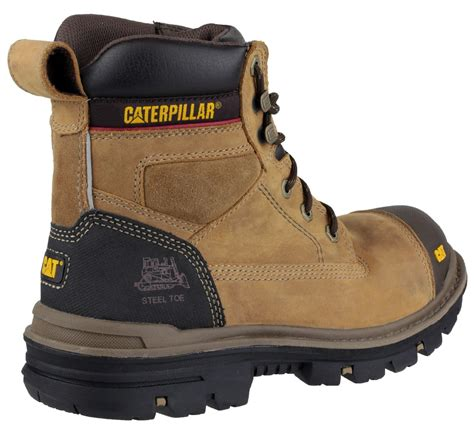 caterpillar safety size mens cat caterpillar gravel steel toe cap safety work