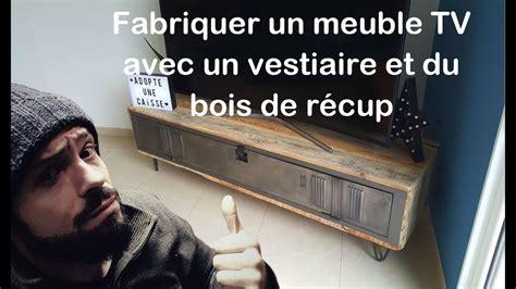 comment fabriquer un meuble tv avec vestiaire et bois de r 233 cup by adopteunecaisse maker