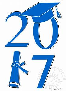 Graduation Class Of 2017 | Coloring Page