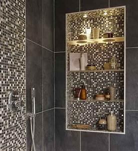 Niche De Douche : dans une suite parentale une salle de bains tout confort ~ Premium-room.com Idées de Décoration