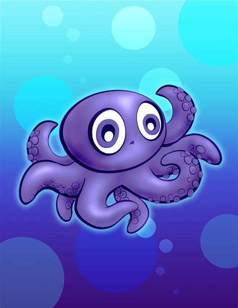 cartoon octopus   clip art  clip