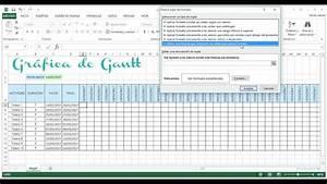 Grafica De Gantt En Excel