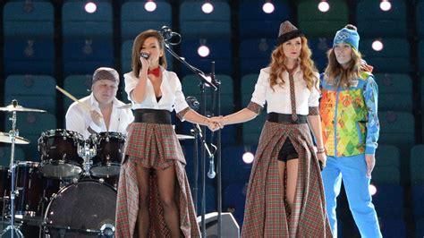 Yes The Pseudo Lesbian Band T A T U Sang At Sochi's