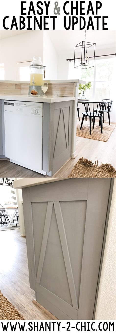 how to kitchen cabinets how to make builder grade cabinets look custom shanty s 7362