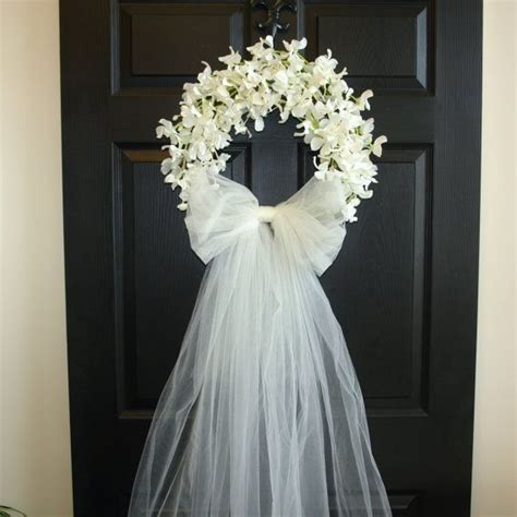 Bridal Shower Decorations Wedding Wreaths Front Door