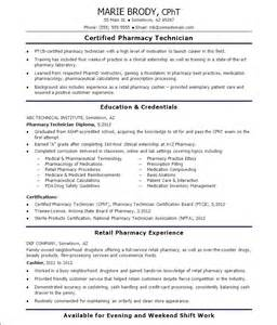 exle of entry level pharmacy technician resume free pharmacy technician resume free sles exles format resume curruculum vitae