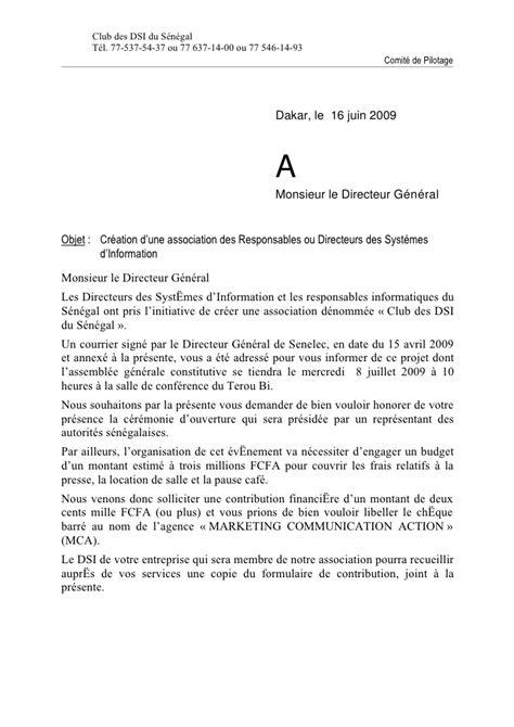 Lettre Invitation Aux Dg 16062009