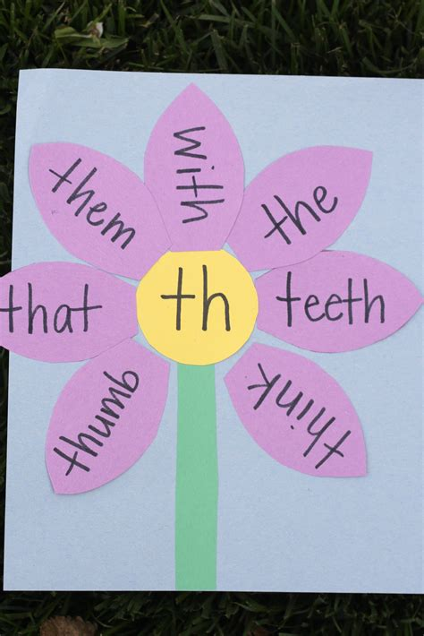 consonant digraph garden   teach  child