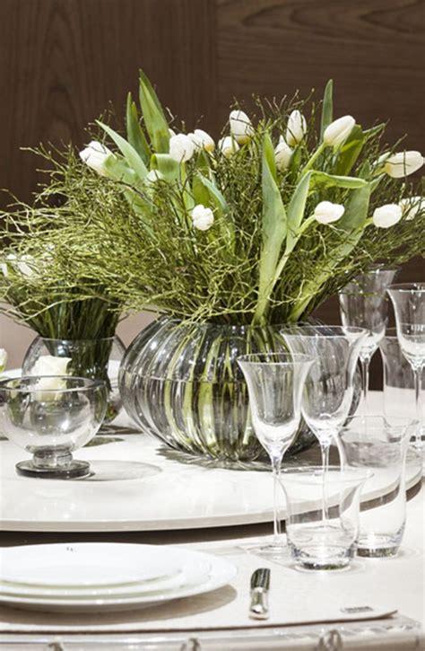 Tischgestecke In Glas by Fendi Casa Table Decor Luxury Living Dining