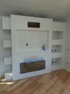 Entertainment Center: Drywall